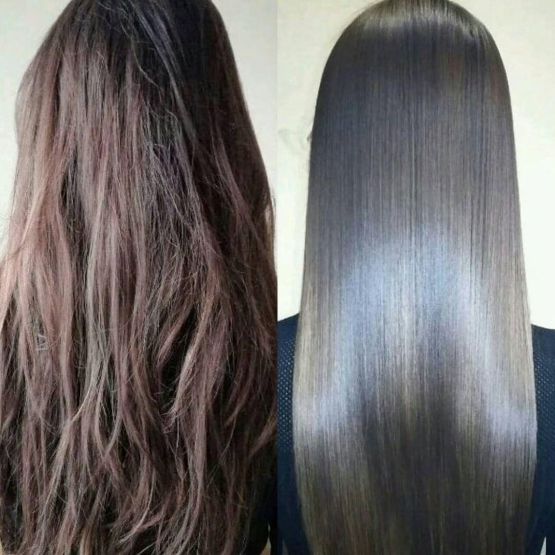 начала фото кератиновое выпрямление волос до и после автомобиле заряжается