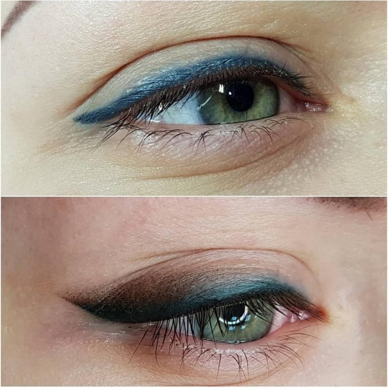 цветной татуаж глаз фото других