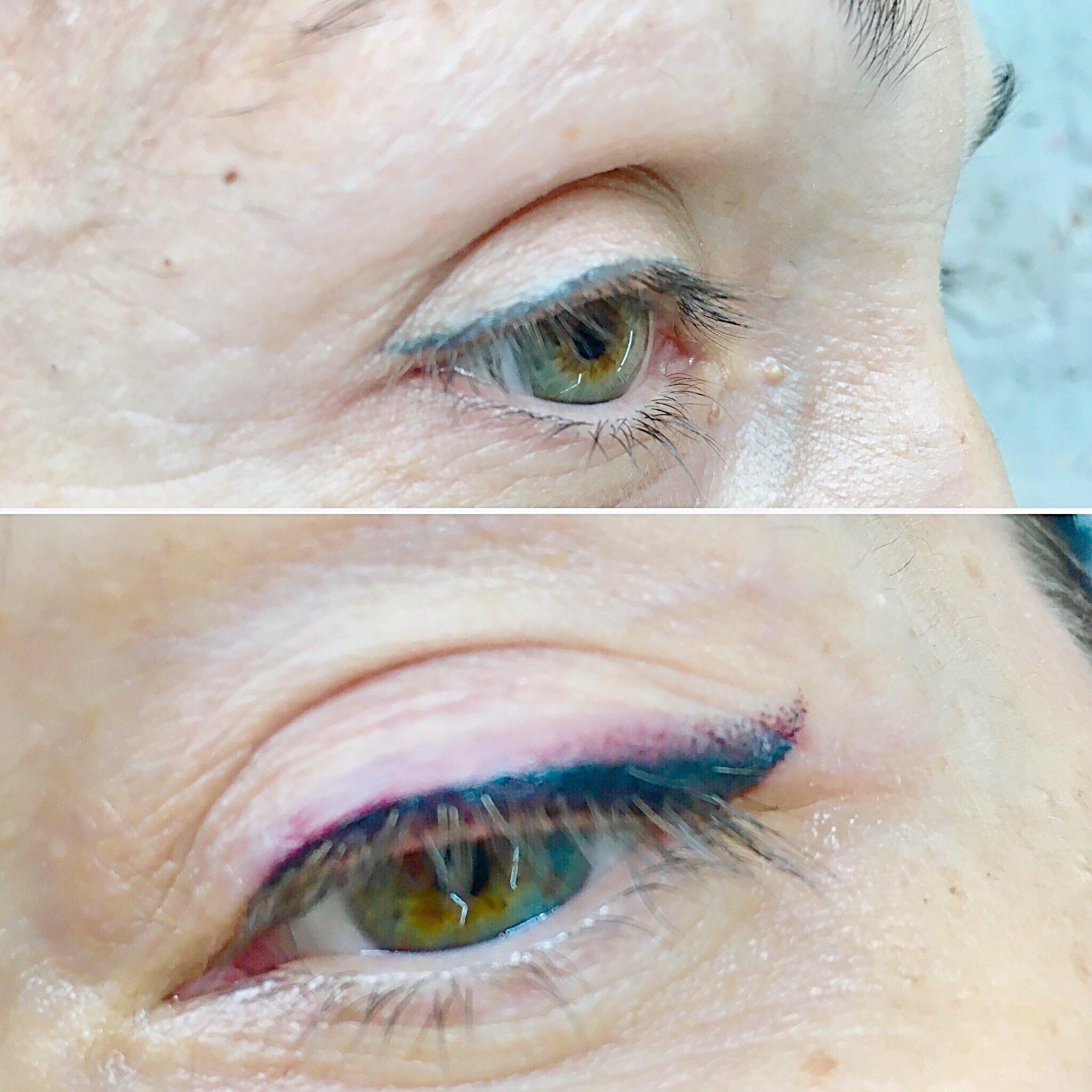 исправление татуажа глаз фото учеников несоизмеримы