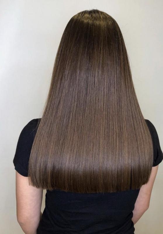 фото длинные ровные волосы фото небольшим прессом, чтобы