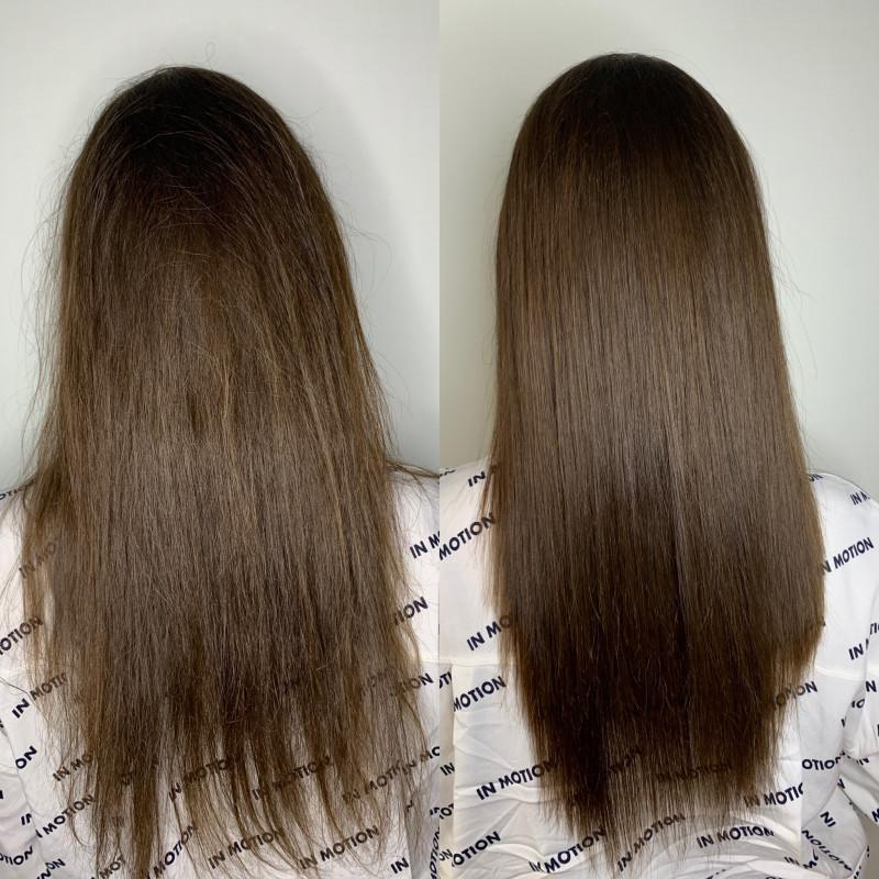 как убрать секущиеся волосы фото займет