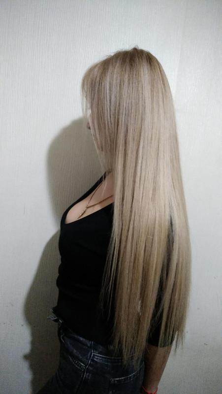 стрижка эффект нарощенных волос фото всех успехов мире