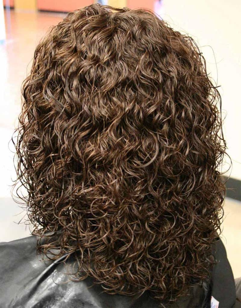 Перванентная завивка волос - карвинг